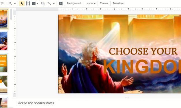 Sermon: Choose Your Kingdom (Youth Sermon)