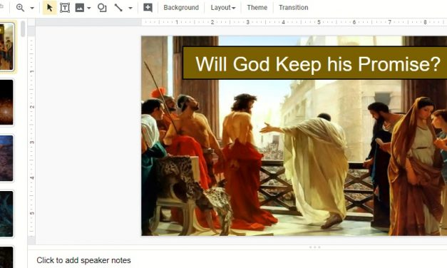 Sermon: Will God Keep His Promise?